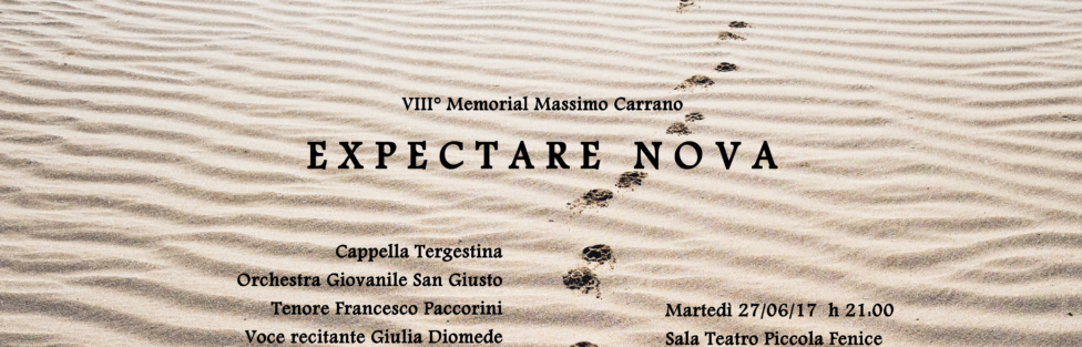 27/06/2017 – VIII° Memorial Massimo Carrano – Expectare Nova