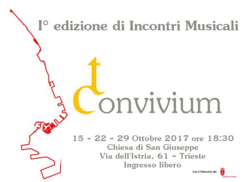 I° edizione di Incontri Musicali Convivium
