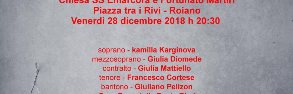 28/12/2018 Oratorio di Natale