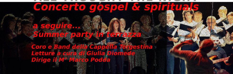 02/08/2019 – All Through the Night – Concerto gospel & spirituals